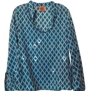 Tory Burch Turquoise Tunic